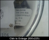 Westinghouse D4S polyphase watthour meter closeup